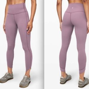 Lululemon Align Pant 25 Petal Frosted Mulberry 4